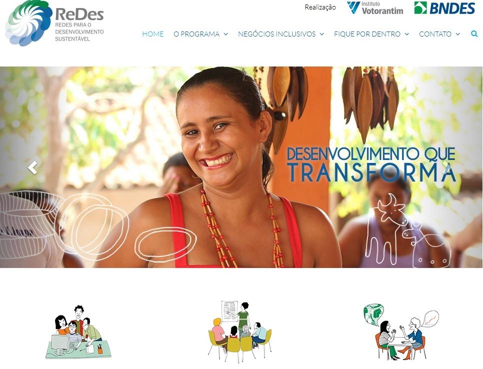 Novo site do Programa ReDes traz inovações para o leitor