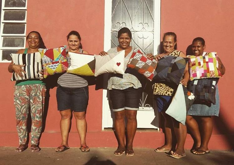 AME Costurar e as empreendedoras de Cantagalo