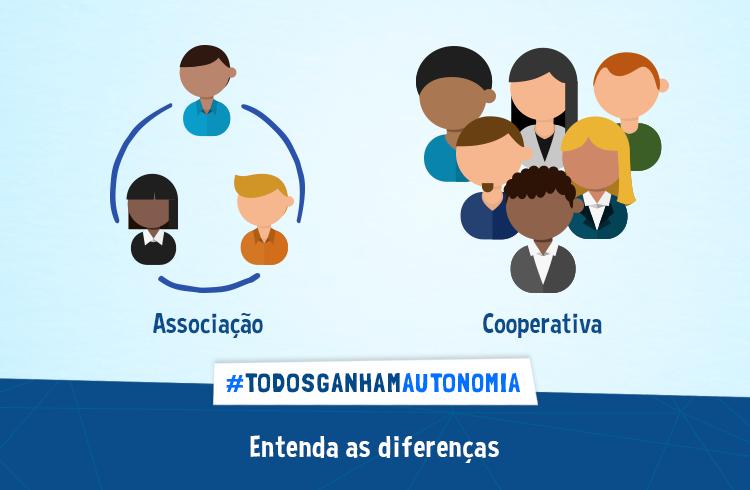Conheça as diferenças entre associação e cooperativa
